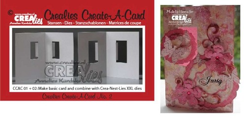Crealies - Die - Create-A-Card - CCAC02