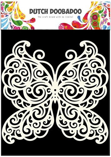 Dutch Doobadoo - Maskingstencil - Butterfly - 470.715.500