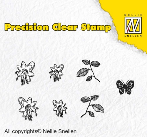 Nellie Snellen - Clearstamp - Precision - Nature bellflow - APST024