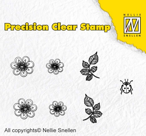 Nellie Snellen - Clearstamp - Precision - Nature kingcup - APST025