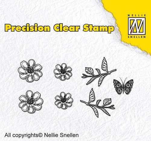 Nellie Snellen - Clearstamp - Precision - Nature anemone - APST013