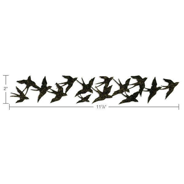 Sizzix - Die - Sizzlits - Birds in Flight - 659425