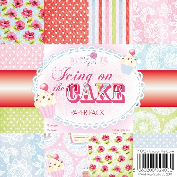 Wild Rose Studio`s - Paperpack - Icing on the cake - PP042