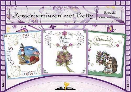 Card Deco - Hobbydols - No. 124 - Zomerborduren met Betty