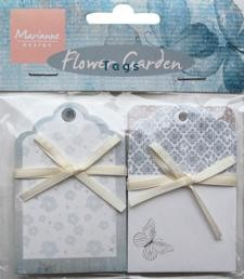 Marianne Design Tags - Flower Garden