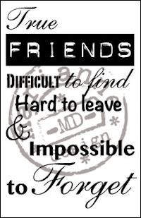 Marianne Design - Clearstamp - True Friends - CS0900