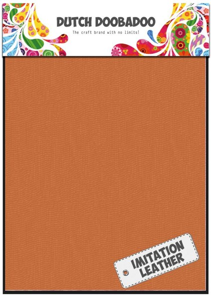 Dutch Doobadoo - Imitation Leather: Orange - 456.070.024