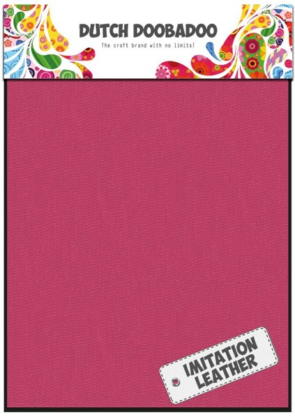 Dutch Doobadoo - Imitation Leather: Pink - 456.070.019