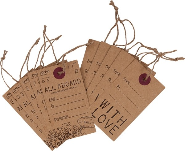Papermania - Luggage Tags