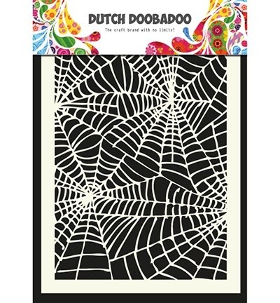 Dutch Doobadoo - Maskingstencil - Spiderweb - 470.715.011