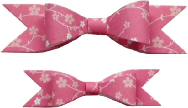 Cheery Lynn Design - Die - Pretty Pretty Bows (set of 2) - B422