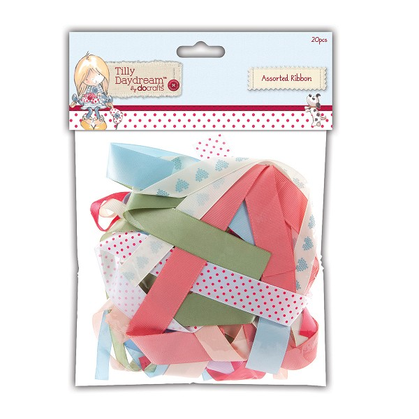 Docrafts - Tilly Daydream - Assorted Ribbon