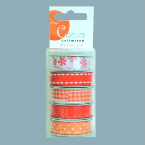 Avec - Color Ribbon: Oranje - 4620132