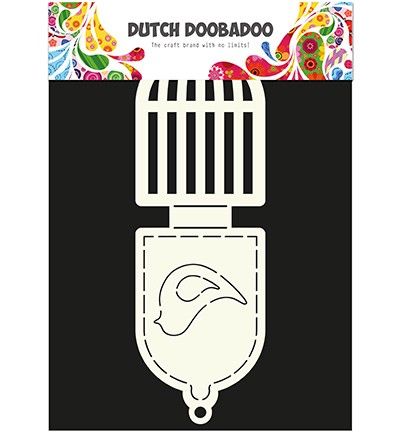 Dutch Doobadoo - Card Art - Bird cage - 470.713.502