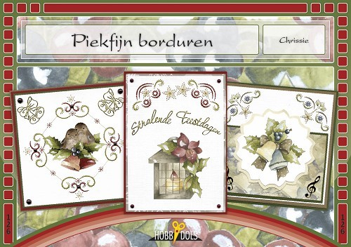 Card Deco - Hobbydols - No. 126 - Piekfijn borduren