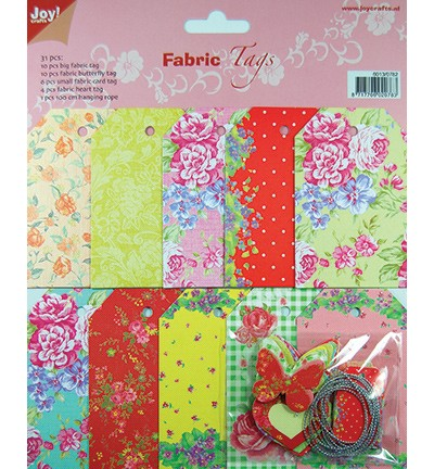 JOY! Fabric Tags