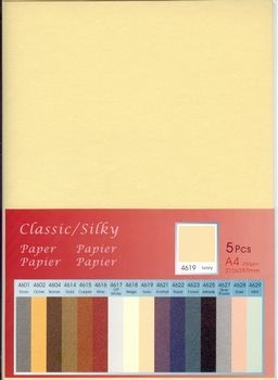 Hobby & Crafting Fun - Classic / Silky  Karton: Ivory - 12046-4619