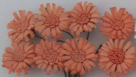 ScrapBerry`s - Paper Flowers - Daises: Pale Pink - SCB281404