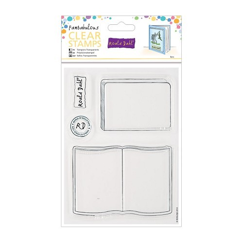 Docrafts - Roald Dahl - Clearstamp - Storybook - RLD907102