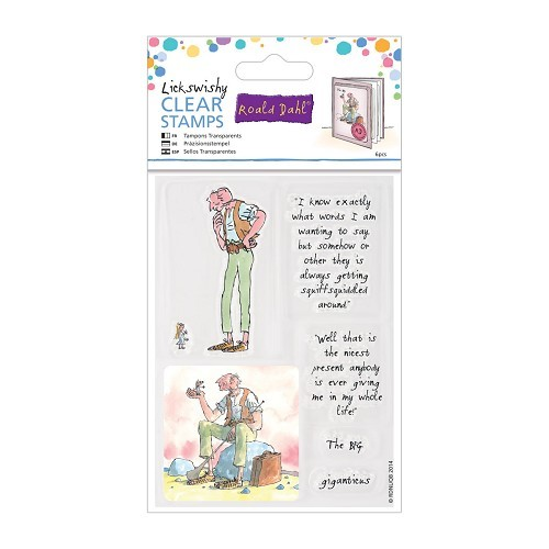 Docrafts - Roald Dahl - Clearstamp - The BFG - RLD907104
