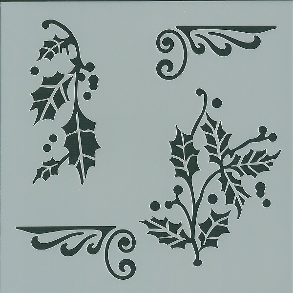 Pickup - Maskingstencil - Vintage - Leaves - 7302151501