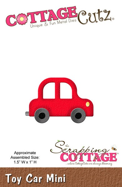 Cottage Cutz - Die - Toy Car Mini - CC-MINI-164