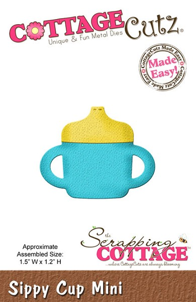 Cottage Cutz - Die - Sippy Cup Mini