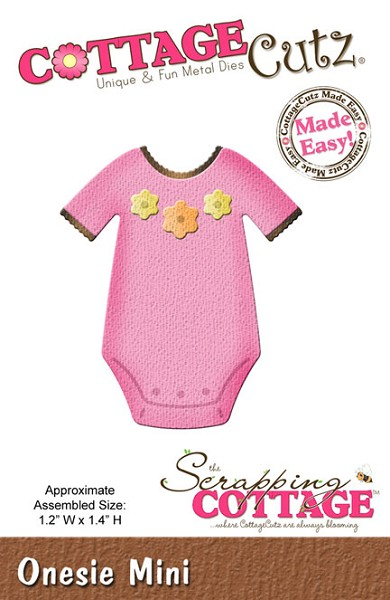 Cottage Cutz - Die - Onesie Mini - CC-MINI-160