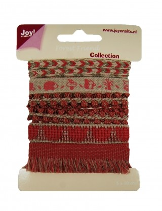 Joy! crafts - Ribbon - Forest Friend collection 1 - set 3 - 6300/0338