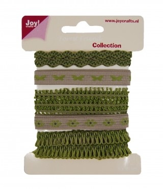 Joy! crafts - Ribbon - Forest Friend collection 2 - set 4 - 6300/0343