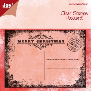 Joy! crafts - Noor! Design - Clearstamp - Christmas Card - 6410/0113