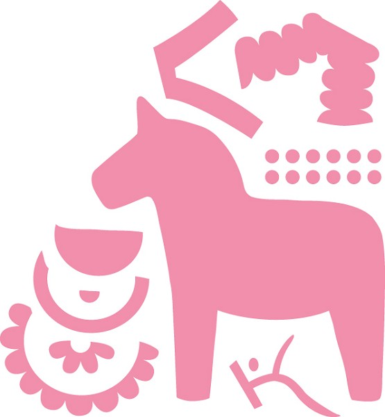Marianne Design - Die - Collectables - Eline`s Dala Horse - COL1371
