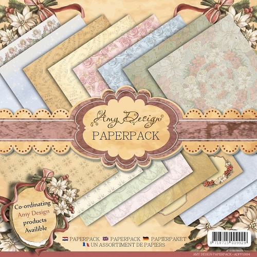 Amy Design - Paperpack - Vintage Christmas Collection - ADPP10004