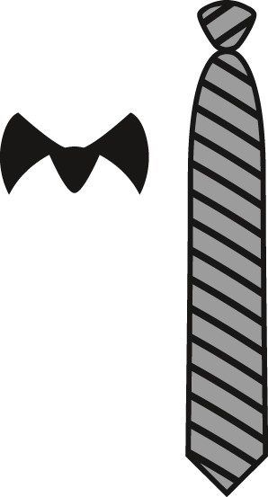 Marianne Design - Die - Craftables - Gentleman`s Tie - CR1292