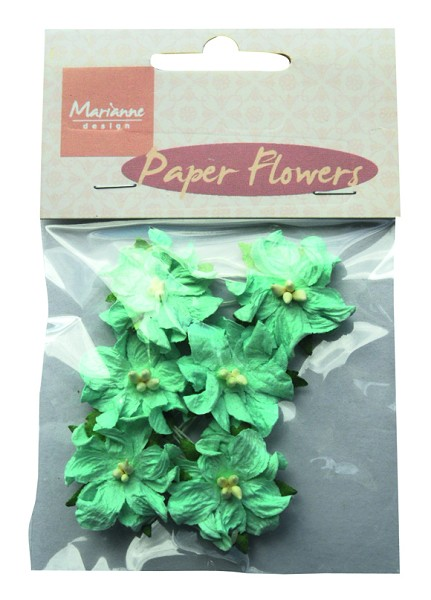 Marianne Design - Paper flowers: Blue - RB2228