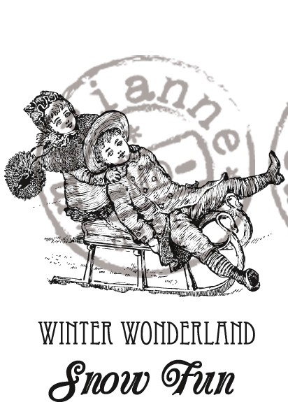Marianne Design - Cling Stamp - Artic Winter - Winter Wonderland - CS0907