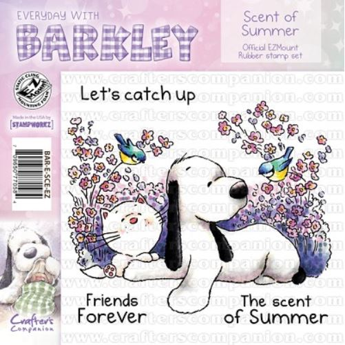 Crafter`s Companion - Barkley - Cling Stamp - The Scent of Summer - BAR-E-SCE-EZ