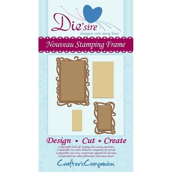 Die`sire - Die - Nouveau Stamping Frame - DS-NOUFRM