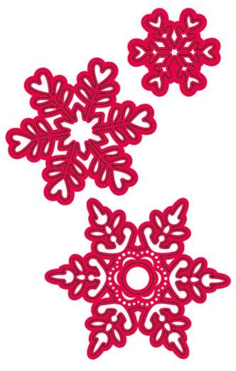 Crafts-Too - Die - Cutting & Embossing - Fresh Snow - CTDI7038