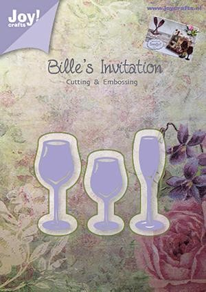 Joy! crafts - Die - Bille`s Invitation - glas servies