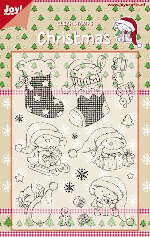 Joy! crafts - Clearstamp - Christmas - Stockings - 6410/0121