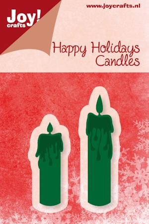 Joy! crafts - Noor! Design - Die - Happy Holidays - Candles