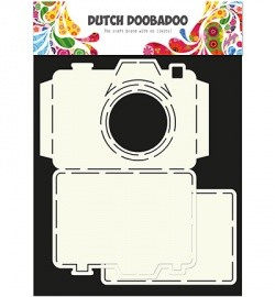 Dutch Doobadoo - Card Art - Camera - 470.713.520