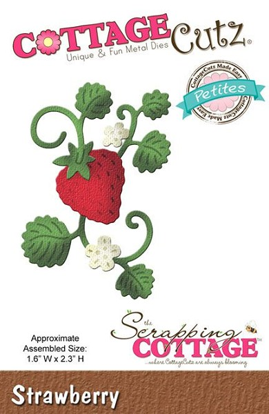 Cottage Cutz - Die - Strawberry - CCP-029