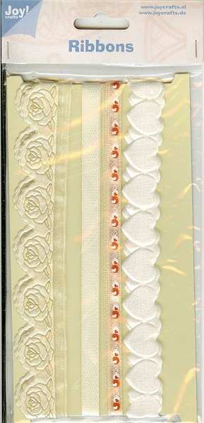 Joy! crafts - Ribbons - Creme - 6300/0301