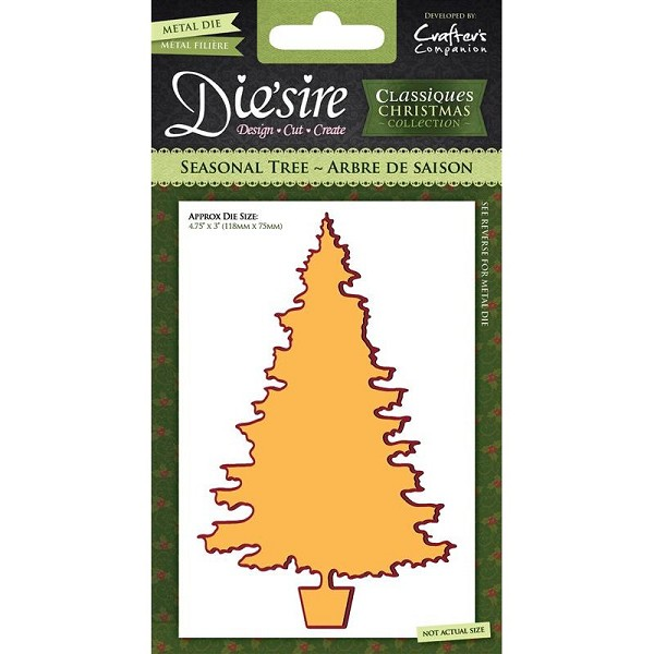 Die`sire - Die - Classiques - Christmas Collection - Seasonal Tree - DS-CX-SETRE