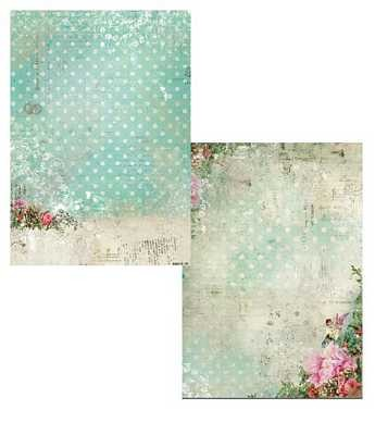 Studio Light - Achtergrondpapier - Shabby Chic - Christmas - BASISSC175