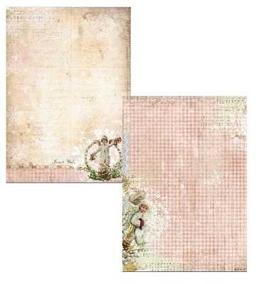 Studio Light - Achtergrondpapier - Shabby Chic - Christmas - BASISSC174