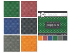 MultiCraft - Paperpack - Perfect Prints - Dots Dark - SP228V