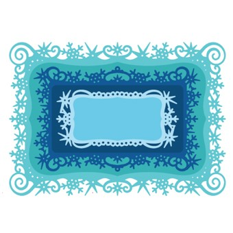 Spellbinders - Die - Holiday - Snowflakes View